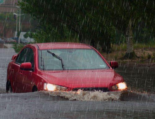 Como funciona a cobertura de enchente no seguro auto